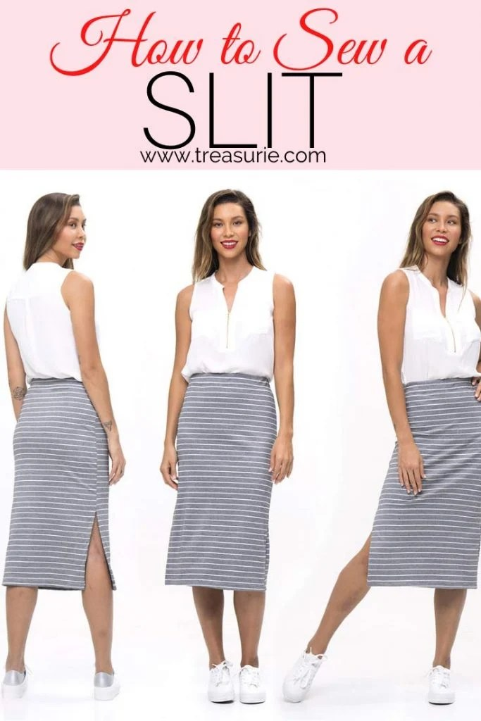 How to Sew a Slit