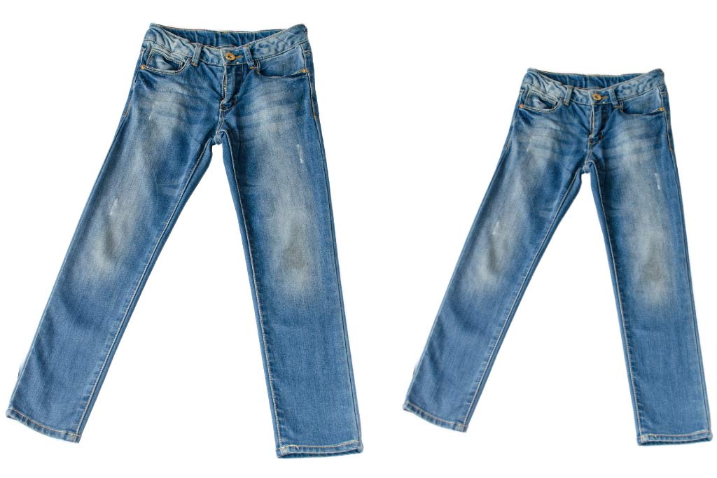 How to Shrink Clothes - Jeans