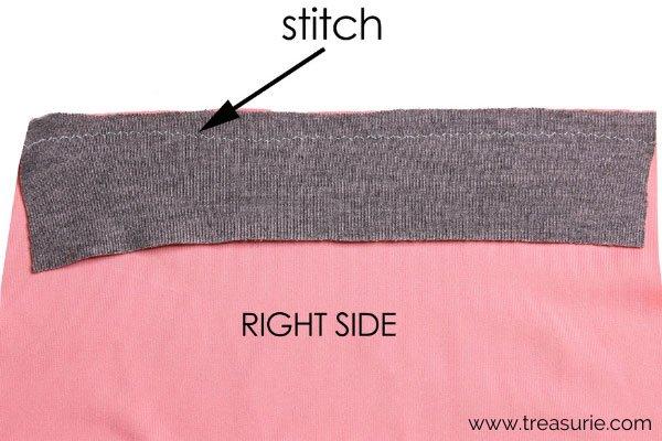 Knit Binding - Stretch Stitch