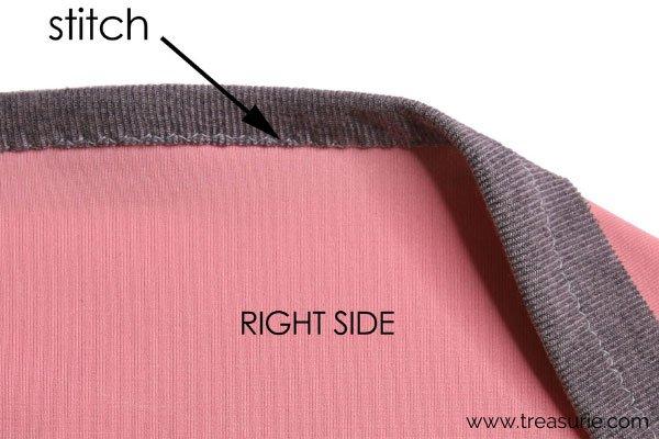 Knit Binding - Final Stitch