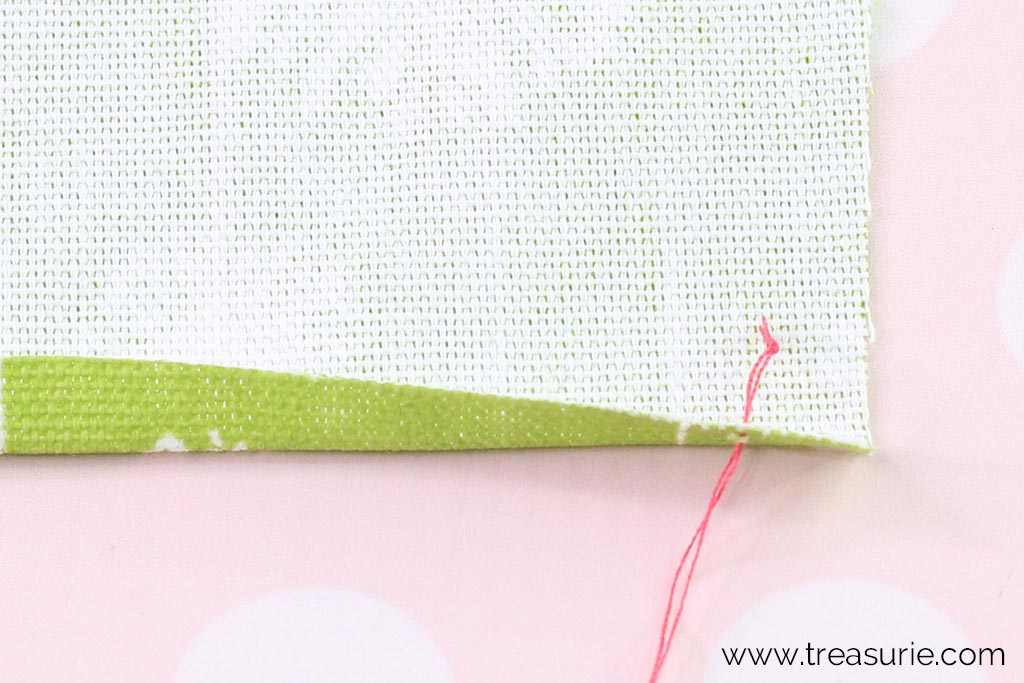 How to Hand Sew Starting