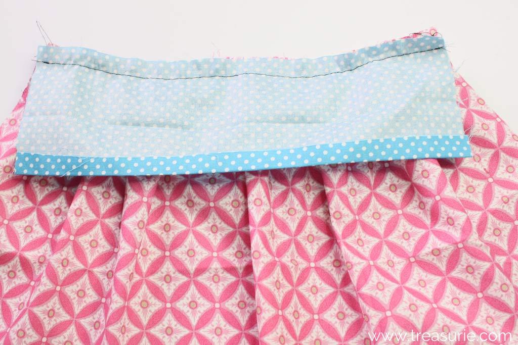Gathered Skirt Pattern - Stitch Waistband