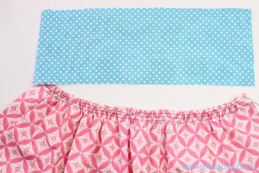 Gathered Skirt Pattern - Gathering