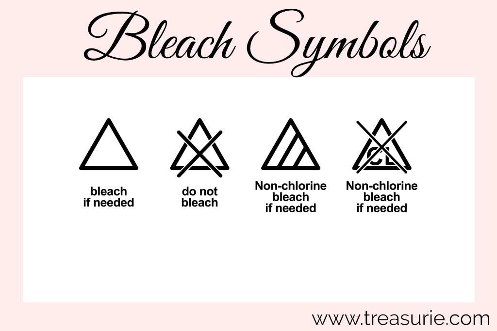 Laundry Symbols - Bleach