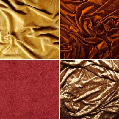 types of velvet