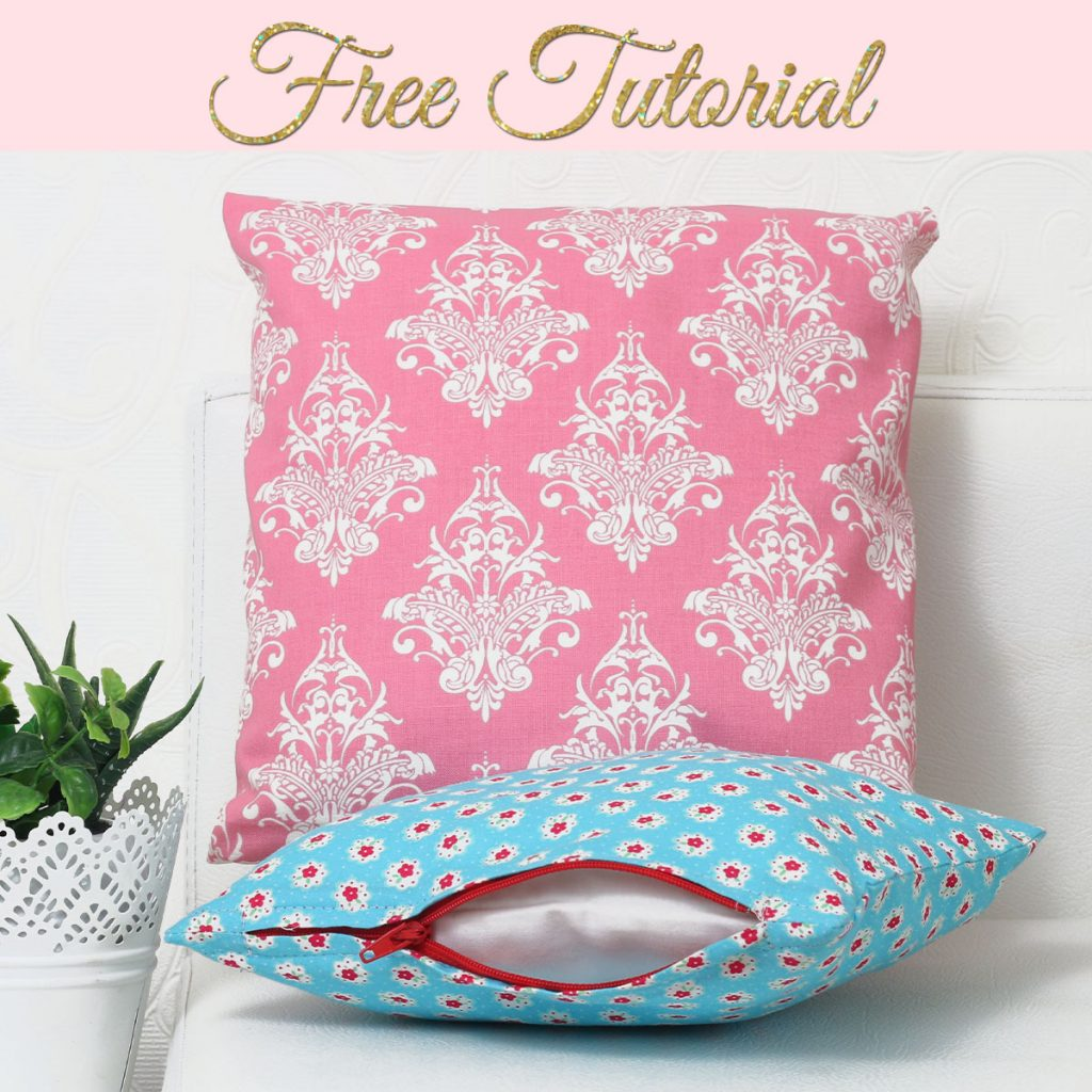 How to Sew a Zippered Cushion Cover