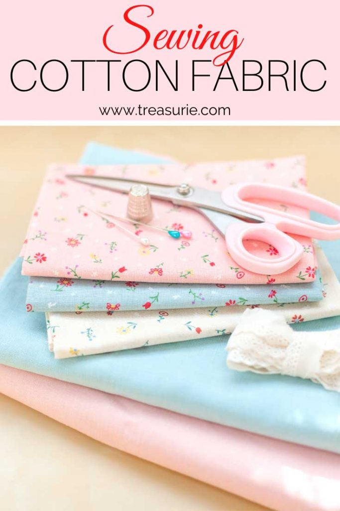 sewing cotton fabric