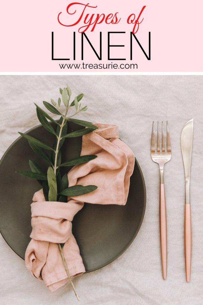 Types of Linen