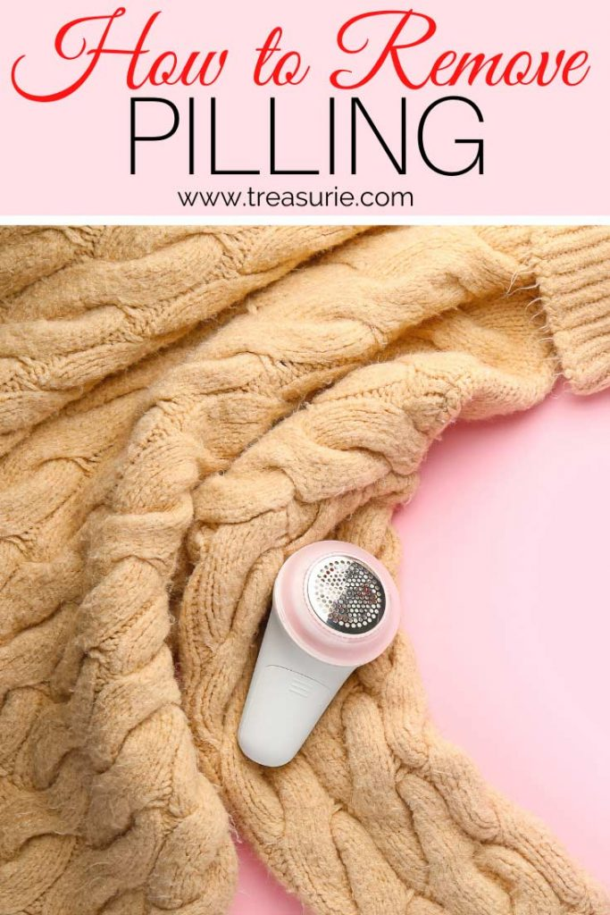 How to Remove Pilling on Clothes
