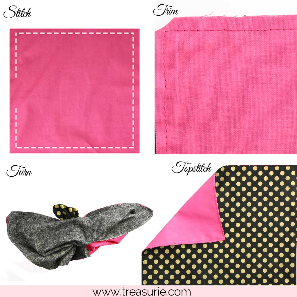 How to Make a Placemat that is Reversible
