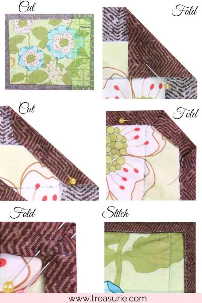 How to Make a Placemat with Self Binding