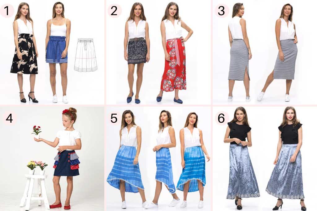 Simple Skirt Pattern