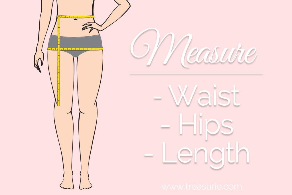 Slip Skirt Pattern Measurements