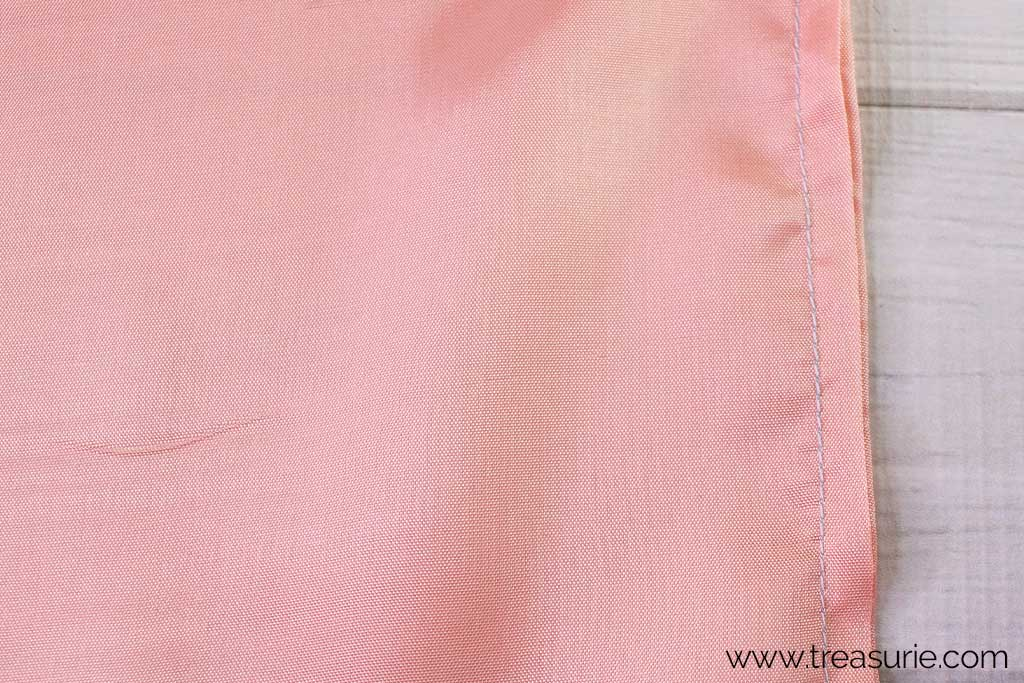 Slip Skirt Pattern - French Seams Step 4