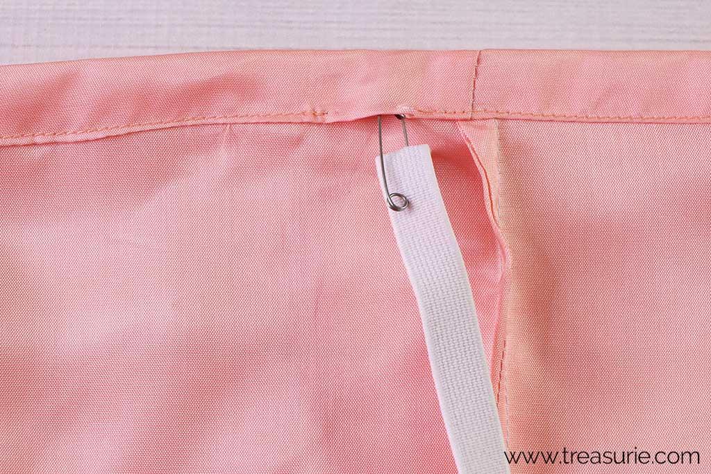 Slip Skirt Pattern - Casing
