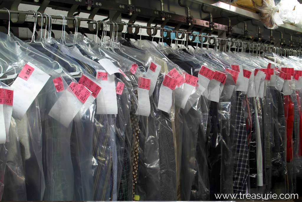 What is Dry Cleaning - Tags