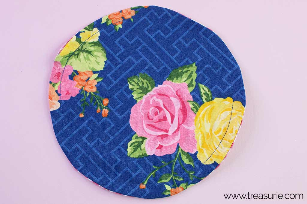 Fabric Bowl Cover Pattern - Casing