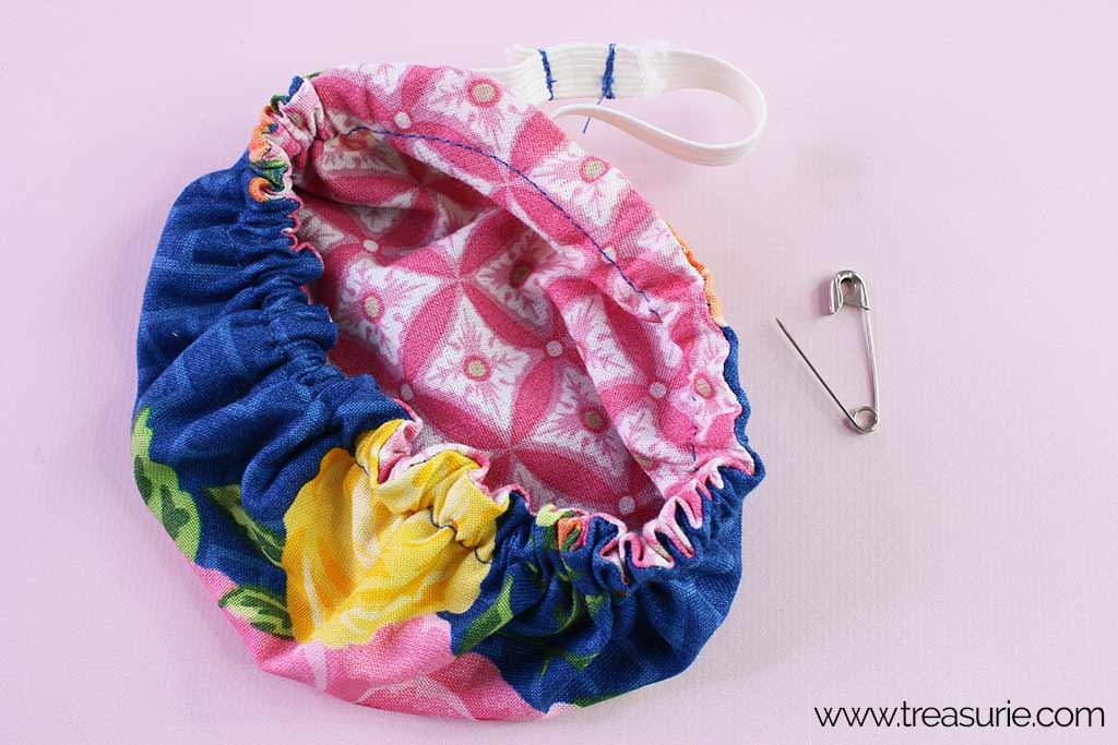 Fabric Bowl Cover Pattern - Elastic
