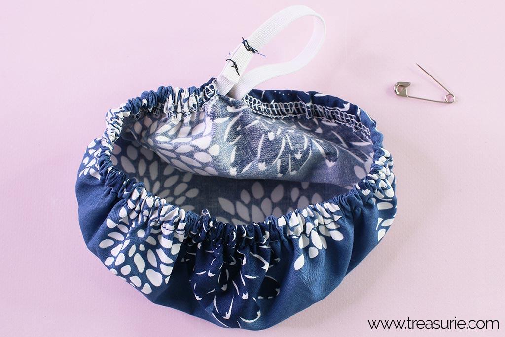 Fabric Bowl Cover Pattern - Elastic