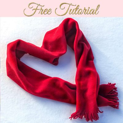 How to Make a Fleece Scarf
