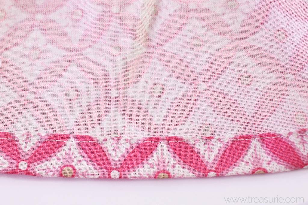 Gathered Skirt Pattern - Hem