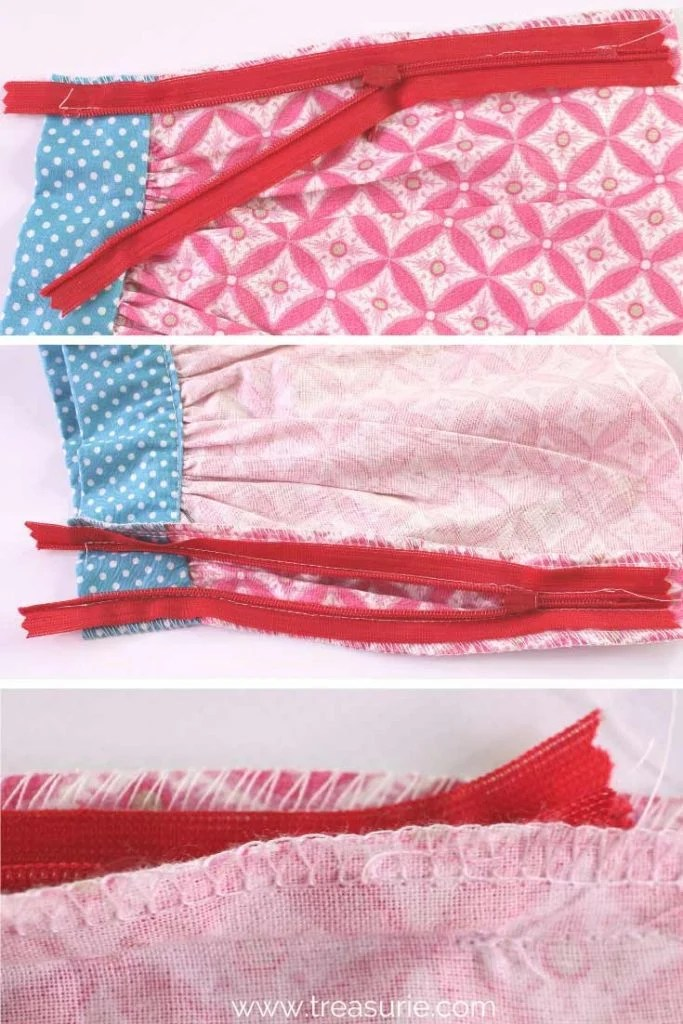 Gathered Skirt Pattern - Invisible Zipper