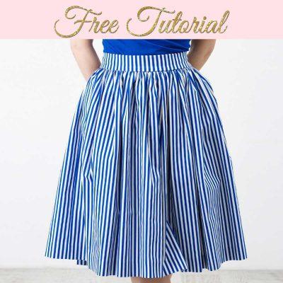 Gathered Skirt Pattern