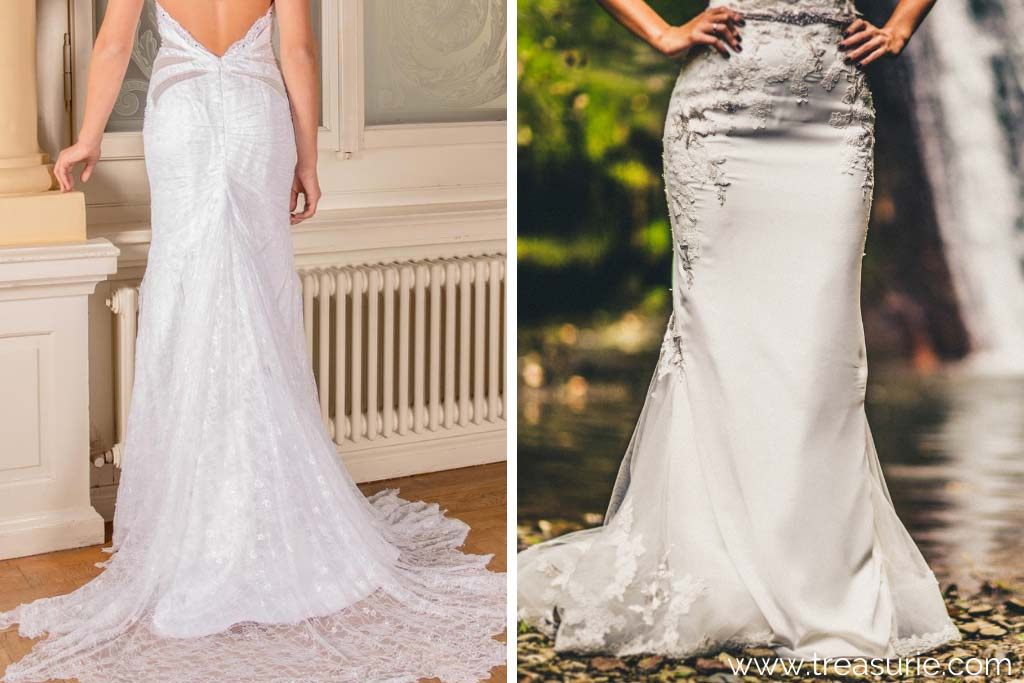 Wedding Dresses with Godets