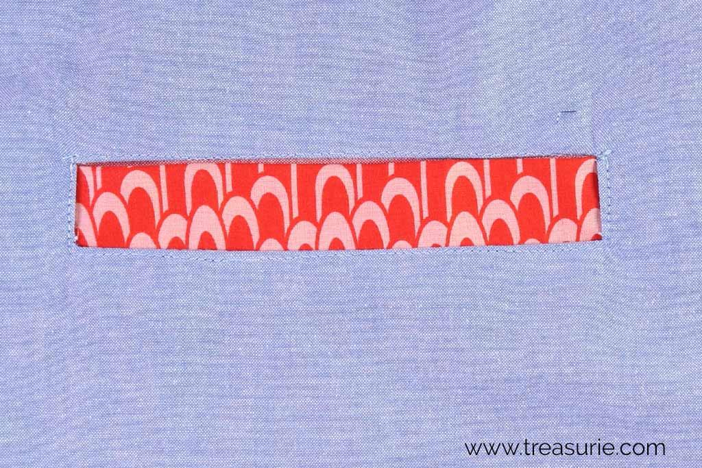 How to Sew Welt Pockets - Topstitch