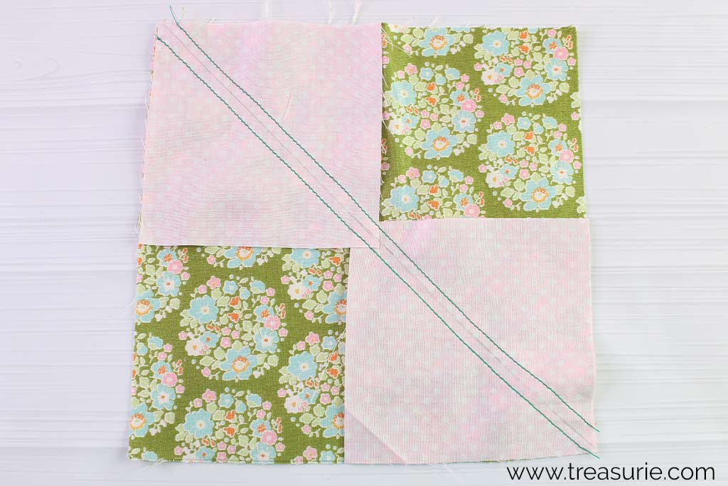 Flying Geese Quilt Blocks - 4 Block Method