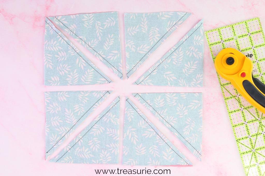 Half Square Triangles - 8 Patch