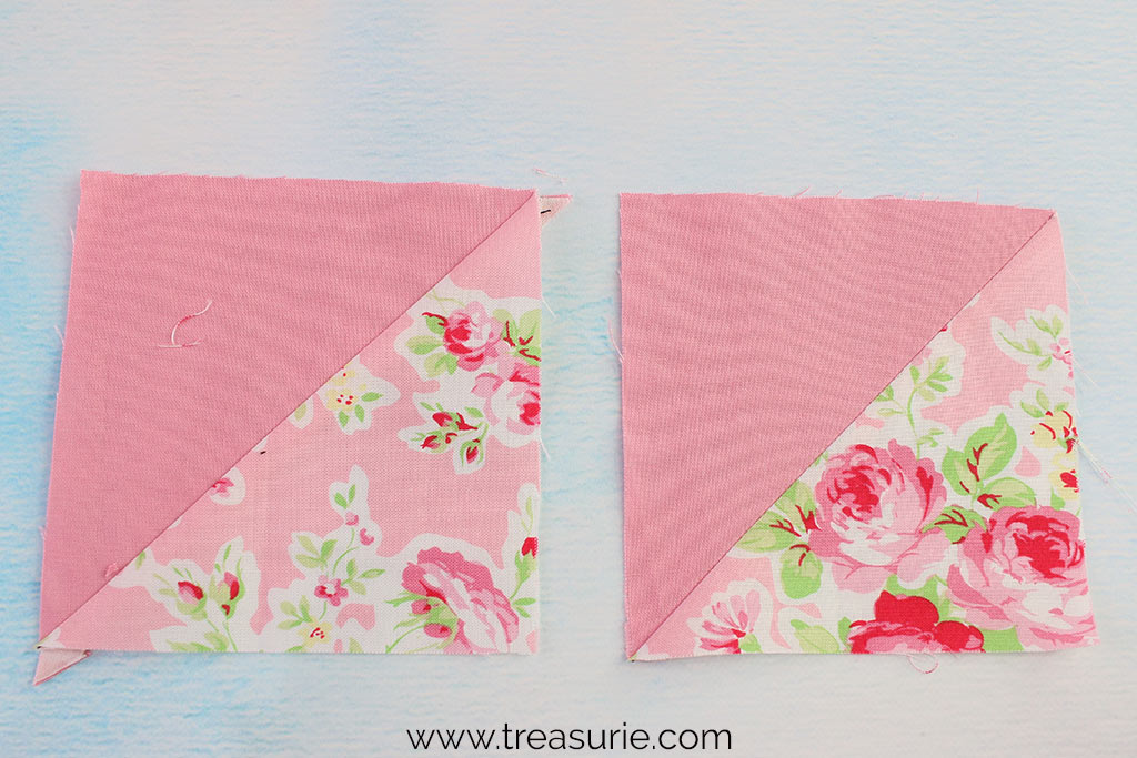 Quilting Terms - Half Square Triangles