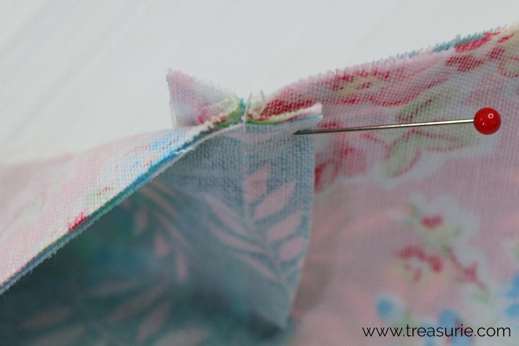 Pressing Quilt Seams - Side Pressing Matching