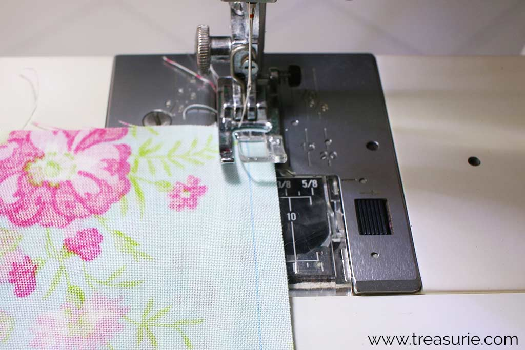 How to Make a Baby Quilt - Seams
