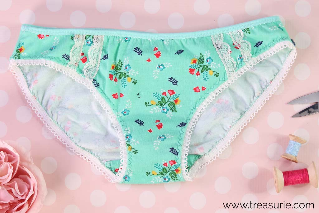 How to Sew Lingerie Elastic