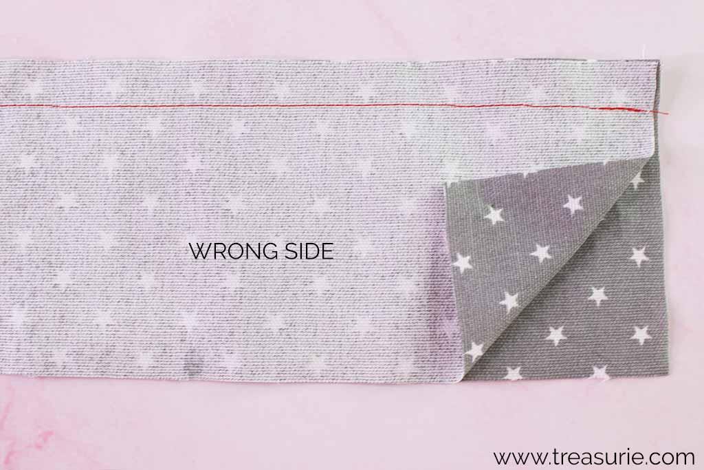 Open Seams Stitching
