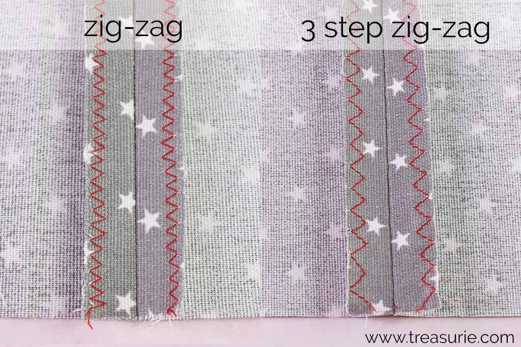 Open Seams with Zig Zag