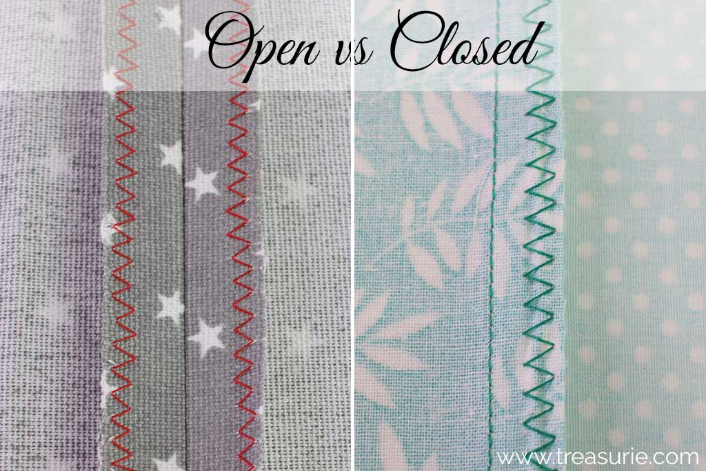 Open Seams vs Closed Seams