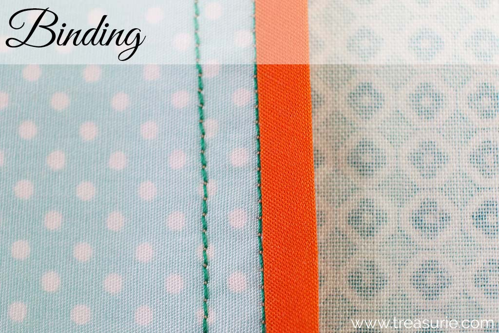 Plain Seams Finished with Binding