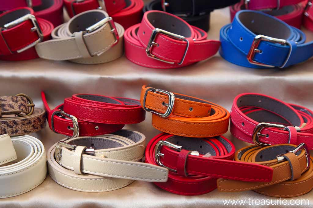 Types of Belts - Classic