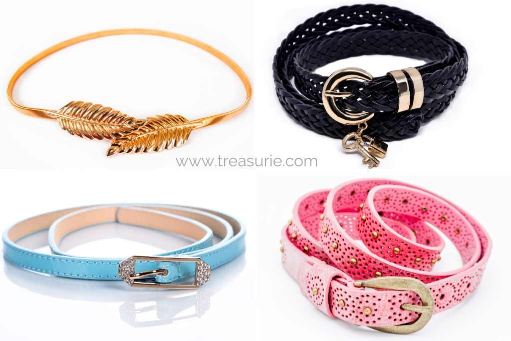 Types of Belts - Metal, Braided, Skinny, Embellished