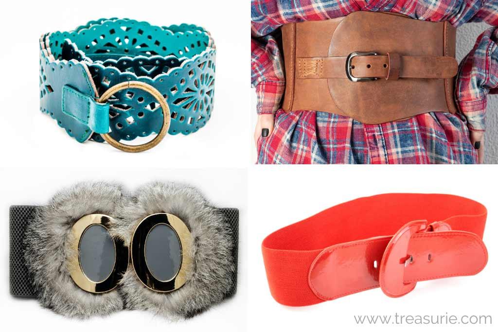 Types of Belts - Oversized