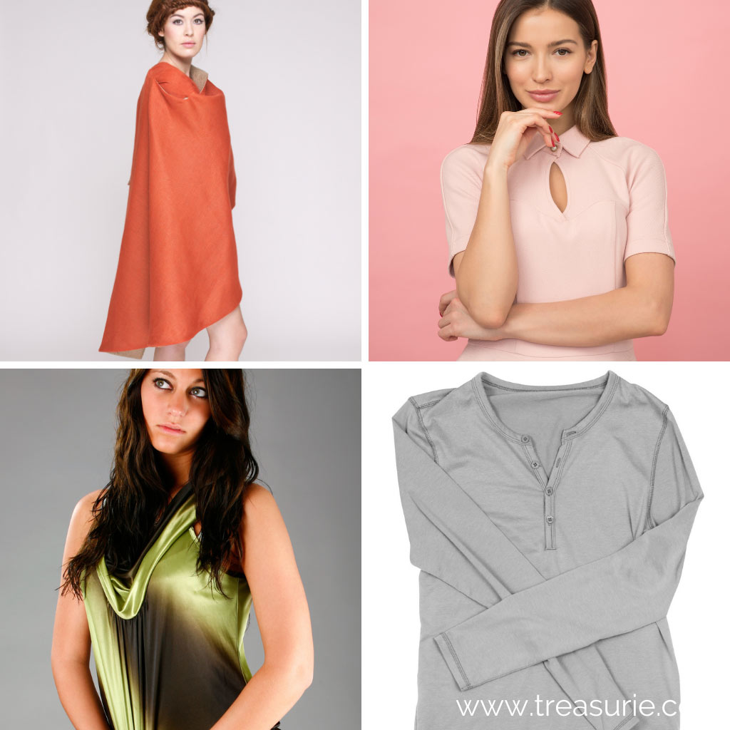 Types of Tops - Cape, Collared, Cowl, Henley