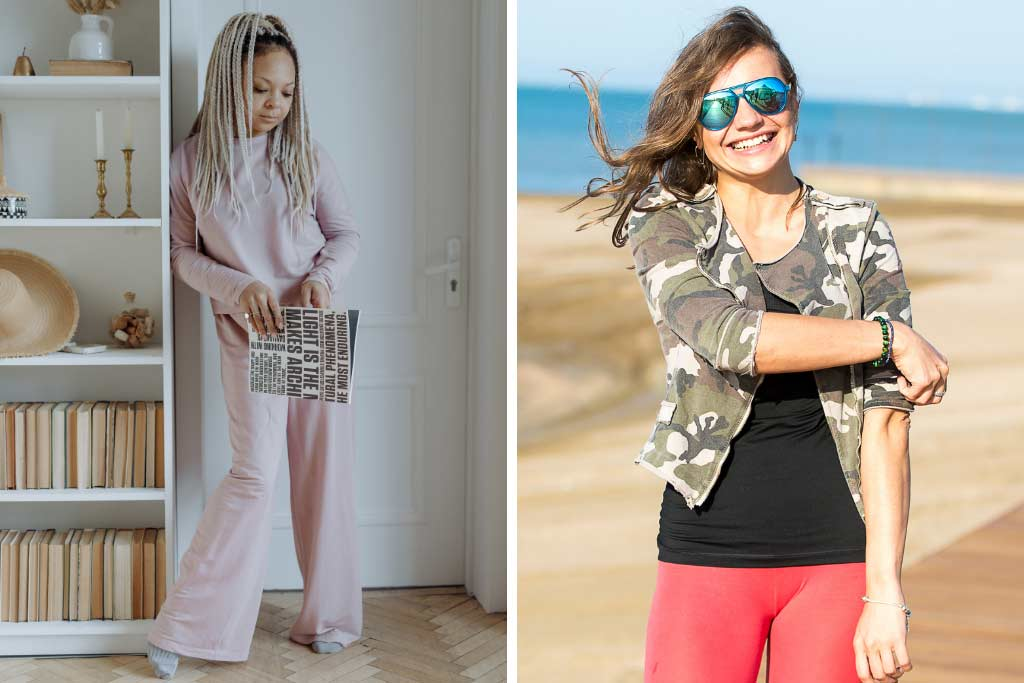 Fashion Styles - Loungewear and Military