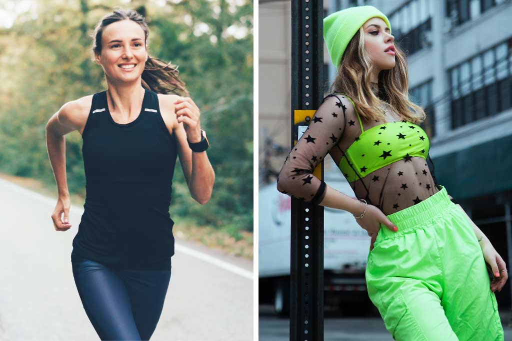 Fashion Styles - Sporty and Streetwear