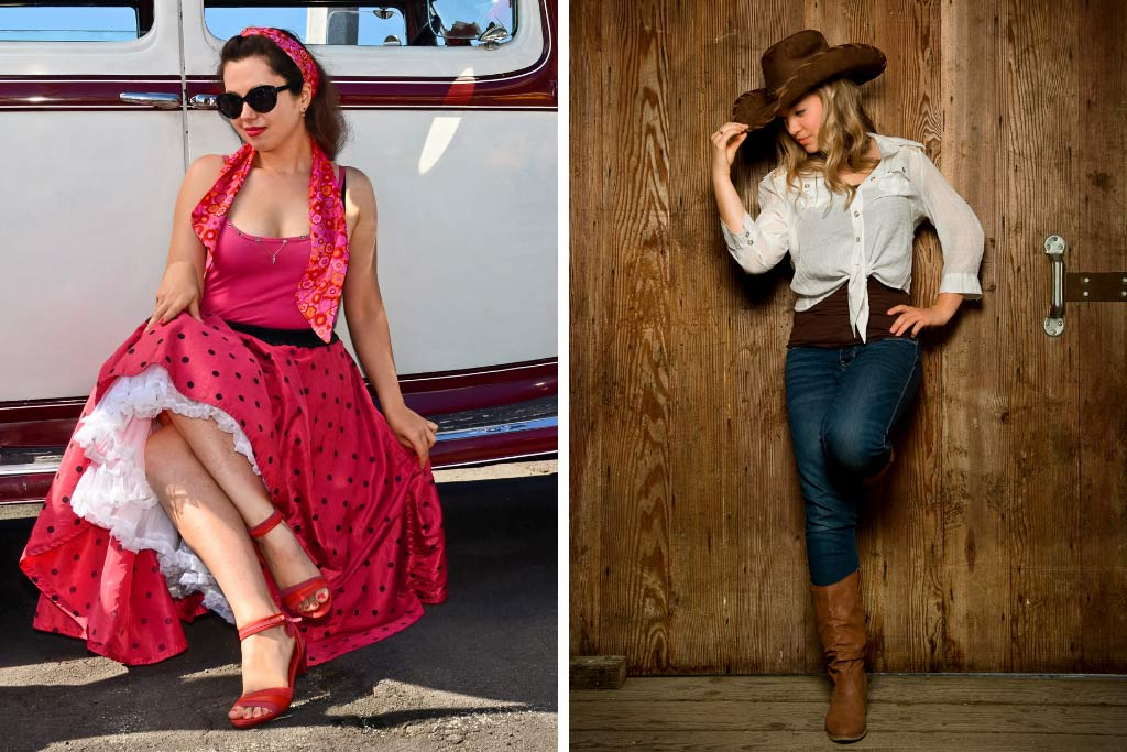 Fashion Styles - Vintage and Western