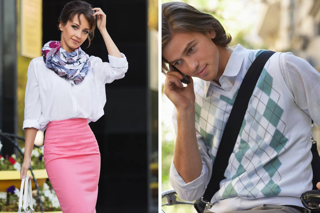 Fashion Styles - Classic and Preppy