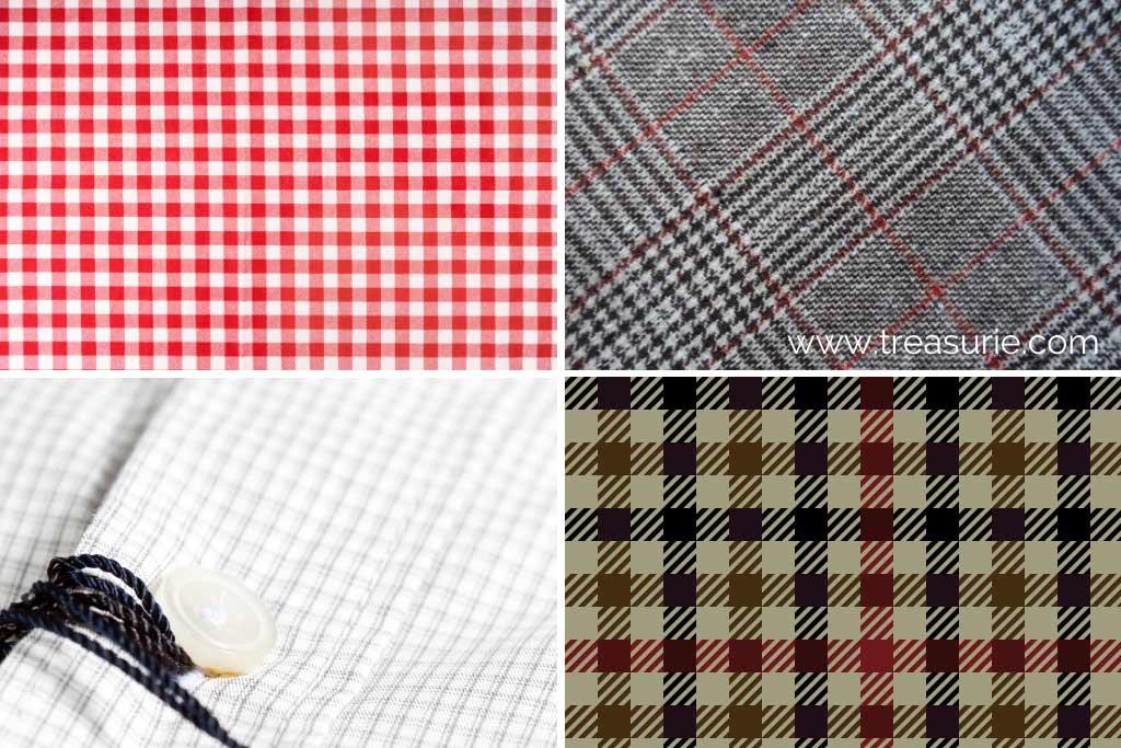 Checkered Pattern (1) Gingham (2) Glen (3) Graph (4) Gun Club