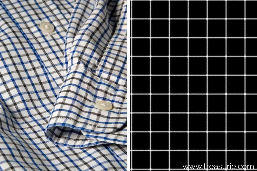 Checkered Pattern (1) Tattersall (2) Windowpane