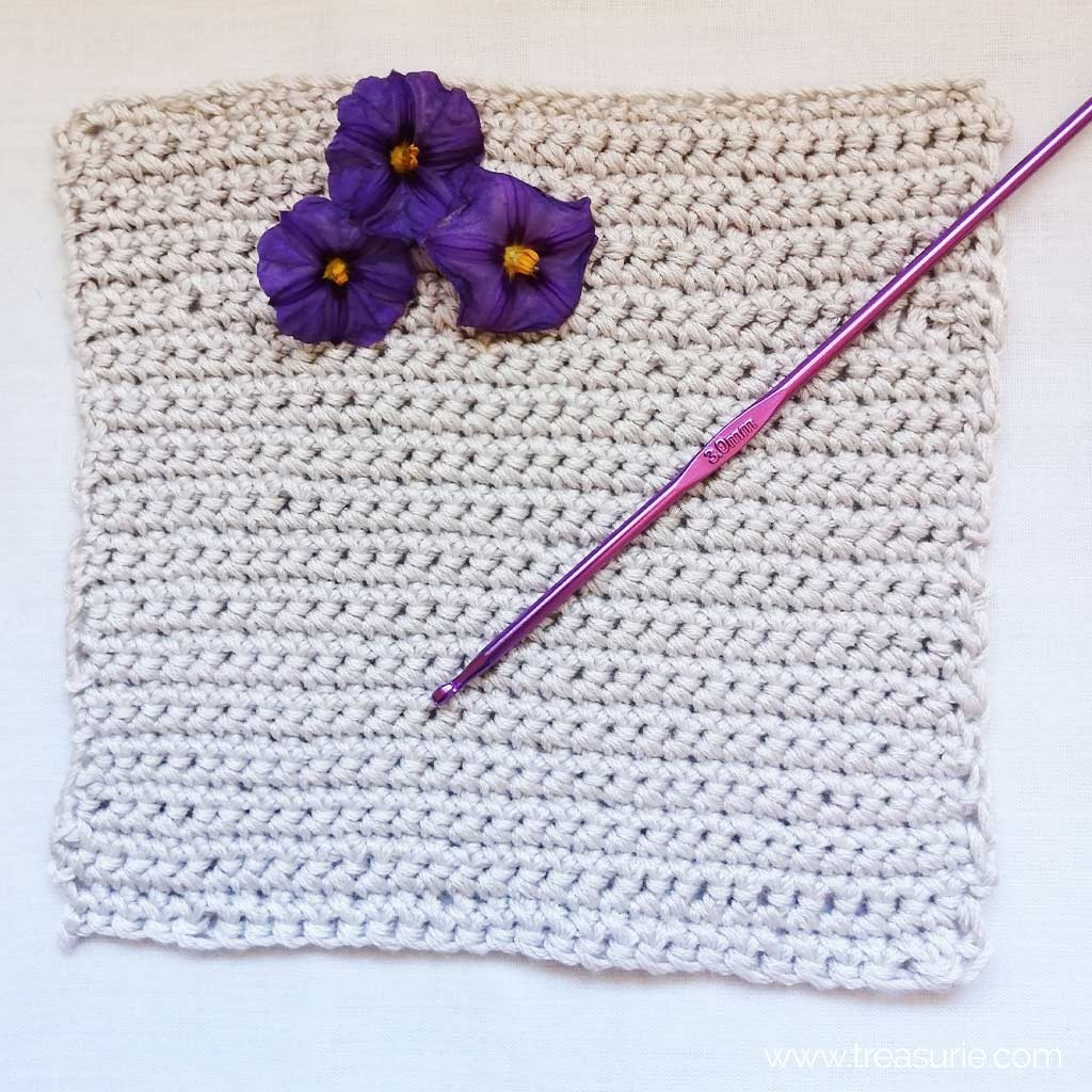 Crochet for Beginners - Practice Squares